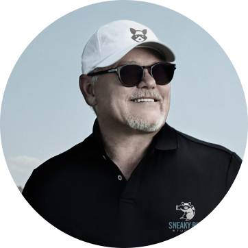 SNEAKY BIG Founder, Bob Parsons