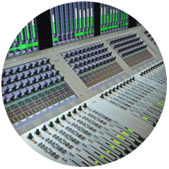 Studer Vista V Audio Console feature in the Audio Rooms