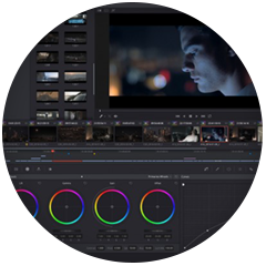 DaVinci Resolve Color Correction and NLE System in the Editing Suites